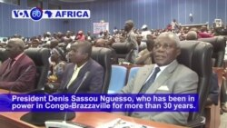 VOA60 Africa - Congo: General Jean-Marie Michel Mokoko formally declares he will run in the March 20 election