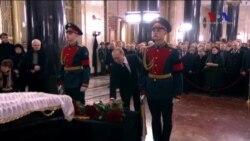 Rus Büyükelçi İçin Moskova'da Tören