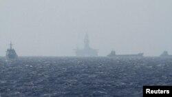 Anjungan minyak lepas pantai Haiyang Shiyou 981 di Laut China selatan (foto: ilustrasi).