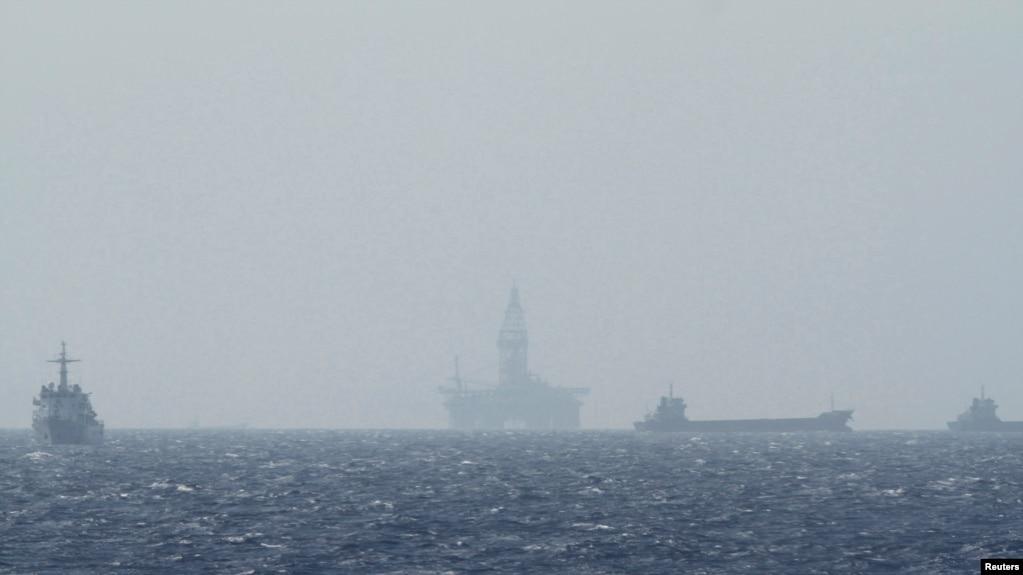 Hải Dương 981 ở Biển Đông hồi 2014.