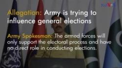 الیکشن، فوج، جیپ اور کالعدم تنظیمیں