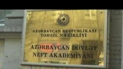 Neft Akademiyasında hicablı tələbələr dərsə buraxılmayıb