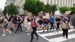 Масовен протест во Вашингтон - Илјадници луѓе низ улиците