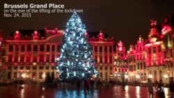 Grand Place on Eve of Lifting Brussels Lockdown