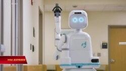 Robot giúp chăm sóc bệnh nhân trong bệnh viện