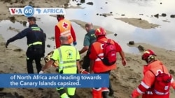 VOA60 Afrikaa - Spain: At least 8 migrants from Africa dead in shipwreck off Canary Islands