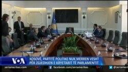 Kosovë: Vazhdojnë mosmarrëveshjet politike