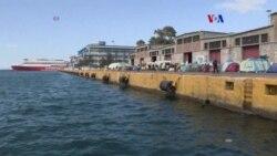 Grecia migrantes varados