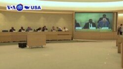 VOA60 America - The United States withdraws from the UN Human Rights Council