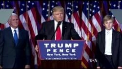 Billionaire Republican Donald Trump Wins the 2016 U.S. Presidential Race