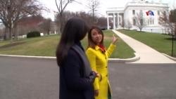 """Սպիտակ տան """"գաղտնիքները"""", նախագահն ու նախագահական ինքնաթիռը՝ Սպիտակ տանն """"Ամերիկայի Ձայն""""-ի թղթակցի հետ զրույցում. ՀԱՅԱՑՔ ԱՄԵՐԻԿԱ"""