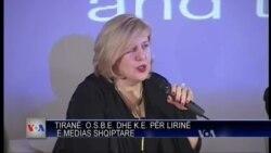 OSBE, liria e medias ne Shqiperi