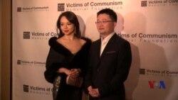 世界小姐林耶凡出席电影《血刃》华盛顿首映