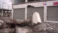 Atemorizados viven sobrevivientes del terremoto de Ecuador