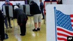 Glasanje u Springfildu, u Ilinoisu
