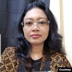 Made Erna H Suponder, Pemeluk Hindu di negara bagian Oregon, AS (foto: courtesy).