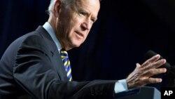 Mataimakin shugaban Amurka, Joe Biden.