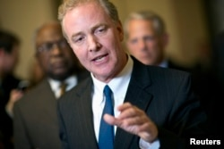 FILE - U.S. Representative Chris Van Hollen (D-MD)