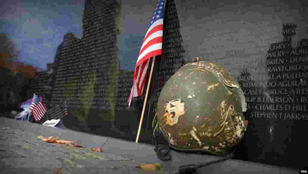 День ветеранов. Вьетнамский мемориал