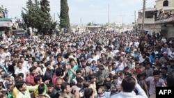 Gradjani Sirije demonstriraju protiv režima Hafeza al Asada
