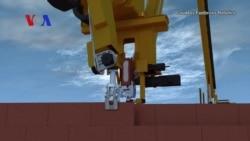 Robot Can Lay 1,000 Bricks an Hour
