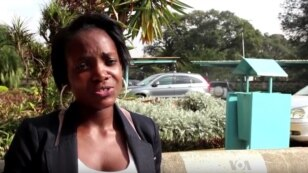 Diana Kuya is a student at the University of Nairobi.  She plans to start her own agribusiness once she graduates.