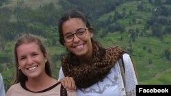 María José Coni y Marina Menegazzo planeaban iniciar el regreso a su país, luego de su visita de fin de semana a un balneario del sur de Ecuador, muy popular entre los jóvenes argentinos.