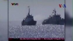 Tàu TQ tấn công bằng vòi rồng, tàu Việt Nam đáp trả