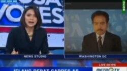 Laporan Langsung VOA untuk Metro TV: Debat Capres AS Kedua
