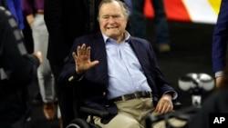 El expresidente George H. W. Bush está recibiendo tratamiento en el centro médico Southern Maine Health Care, en Biddeford.