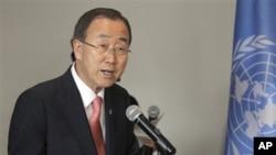 U聯合國秘書長潘基文(資料圖片)