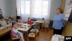 Детский сад в Киеве, Украина