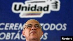 Jesus Torrealba asegura no estar aferrado a su puesto de secretario ejecutivo de la MUD.