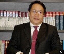 北京的維權律師莫少平(資料照片)