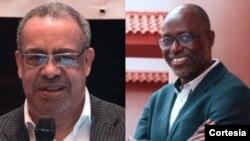 Economistas Carlos Rosado de Carvalho e Dr. Sérgio Calundungo