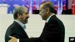 Başbakan Erdoğan, Hamas lideri Halid Meşal ile