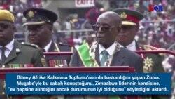 'Zimbabwe Lideri Mugabe Ev Hapsinde'