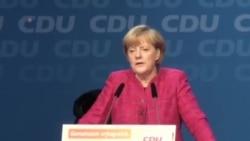 德國總理默克爾的黨派在議會選舉中獲勝