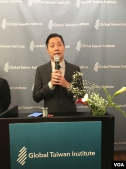 台湾时代力量党立委林昶佐