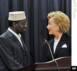 Secretary of State, Hillary Clinton recently met Somalia's President Sheik Sharif Sheik Ahmed.