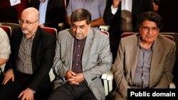 محمد رضا شجریان در کنار علی جنتی وزیر ارشاد/ تابستان امسال