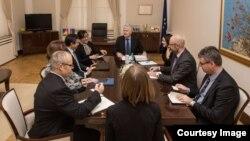 Sastanak delegacije SAD-a sa Draganom Čovićem, 8. decembar 2017. Foto: Predsjedništvo BiH