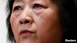 Bà Cao Du, một trong những nhà báo nổi tiếng ở Trung quốc