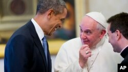 El presidente Barack Obama se reúne con el papa Francisco el 27 de marzo de 2014 en el Vaticano, cuando las negociaciones con Cuba ya estaban bien encaminadas.
