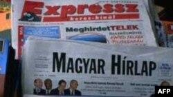 Các nhà báo Hungary phản đối luật báo chí mới vì cho rằng nó sẽ làm họ khó tường trình các chuyện tai tiếng của chính quyền