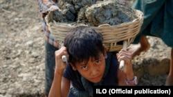 Принудна работа на дете во Мјанмар