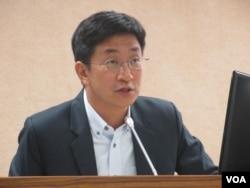 台湾民进党立委蔡适应 (美国之音张永泰拍摄 2017年11月22日)