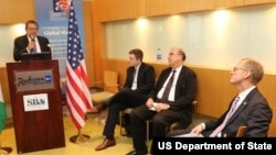U.S. Consul General John Bray said in his opening remarks that for Nigeria to overcome its current economic challenges, it must find ways to diversify its economy while improving firm-level productivity.