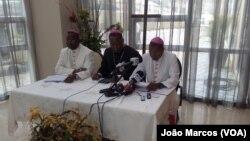 Bispos da CEASP em conferência de imprensa