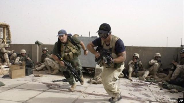 Blackwater adalah perusahaan keamanan swasta terbesar yang digunakan pemerintah Amerika di Irak (foto: dok).